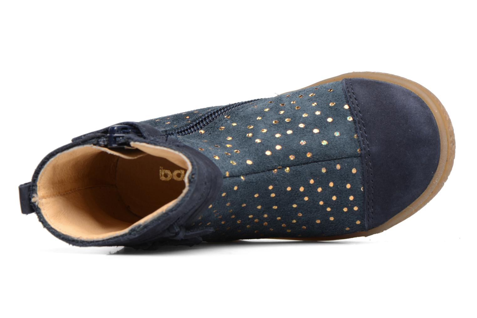 Ankle boots Babybotte Ambalada Blue view from the left
