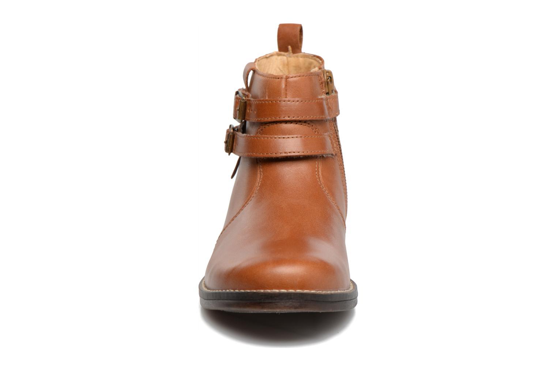 Bottines et boots Babybotte Nuit Marron vue portées chaussures