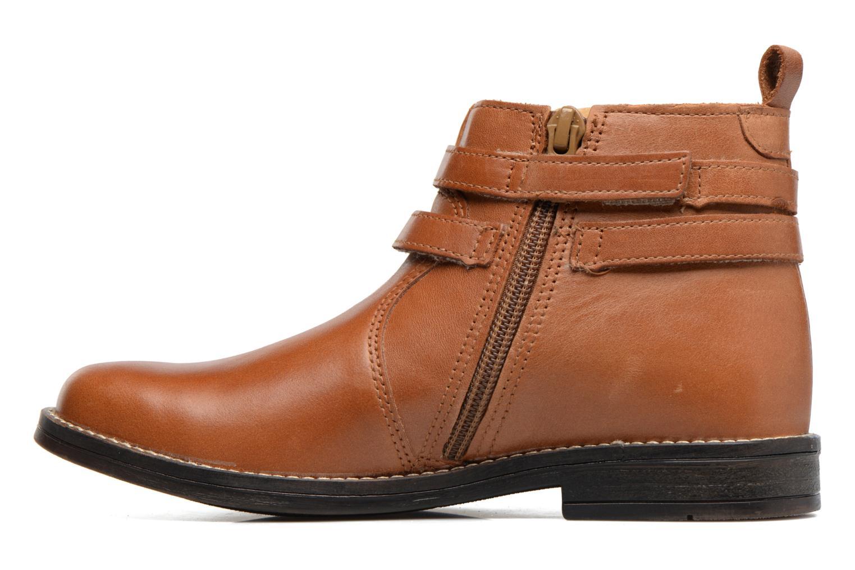 Bottines et boots Babybotte Nuit Marron vue face