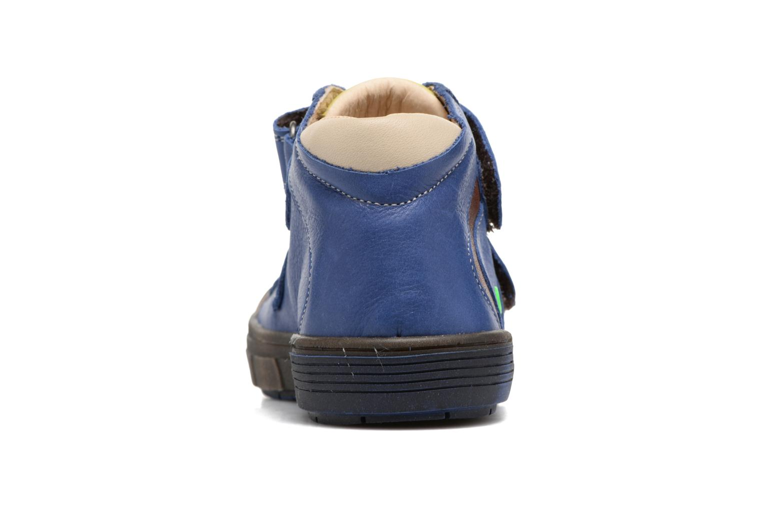 Trainers Babybotte Kongo Blue view from the right