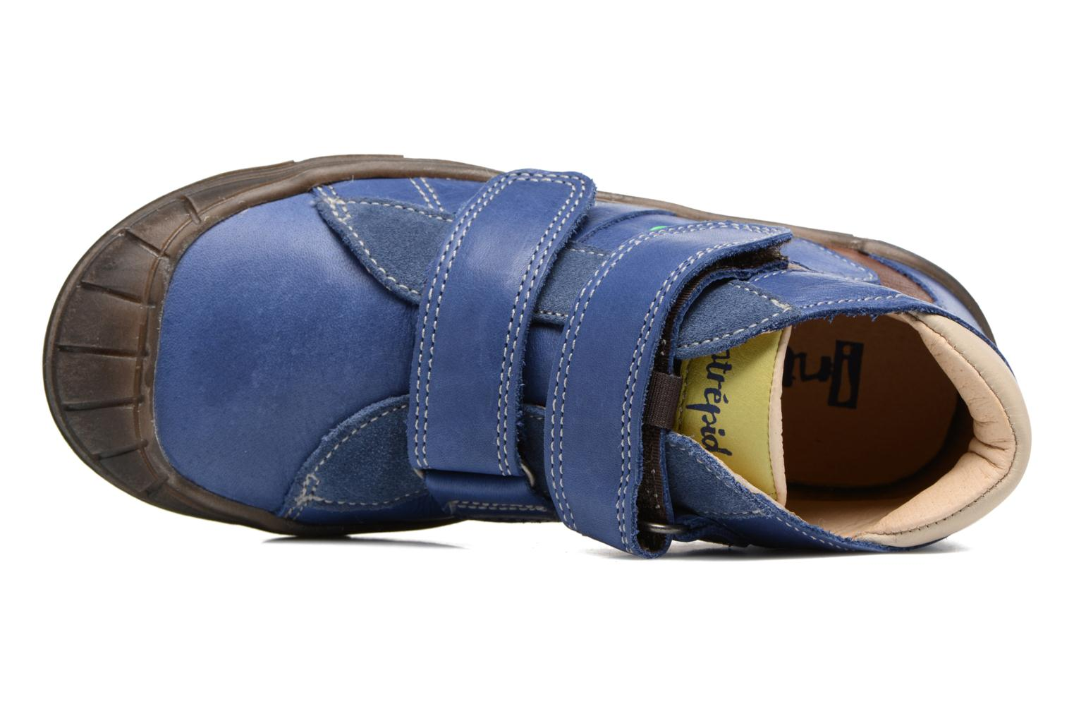 Trainers Babybotte Kongo Blue view from the left