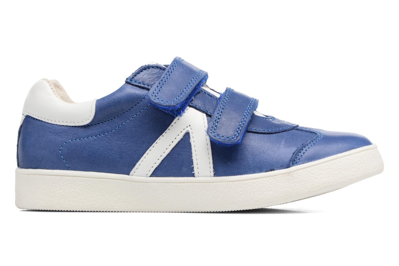 Baskets Babybotte B4 Velcro Bleu vue derrière