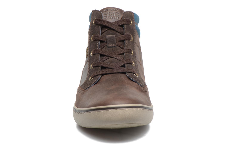 Baskets Geox U Box C U74R3C Marron vue portées chaussures