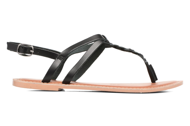 Sandales et nu-pieds Dorothy Perkins flavia plait Noir vue derrière