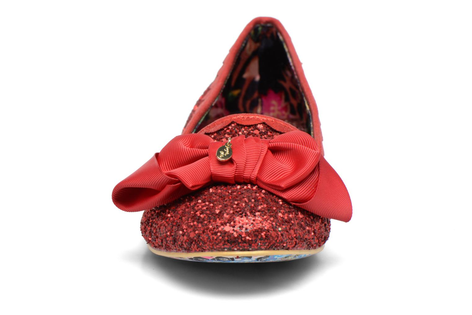 Ballet pumps Irregular choice Sulu Red model view