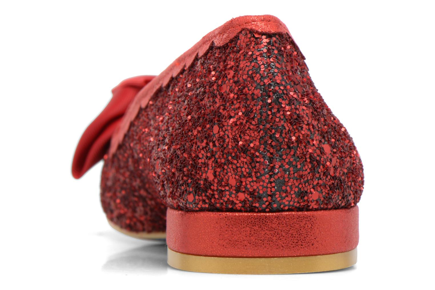 Ballet pumps Irregular choice Sulu Red view from the right