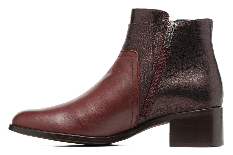 Bottines et boots Karston GLENO Bordeaux vue face