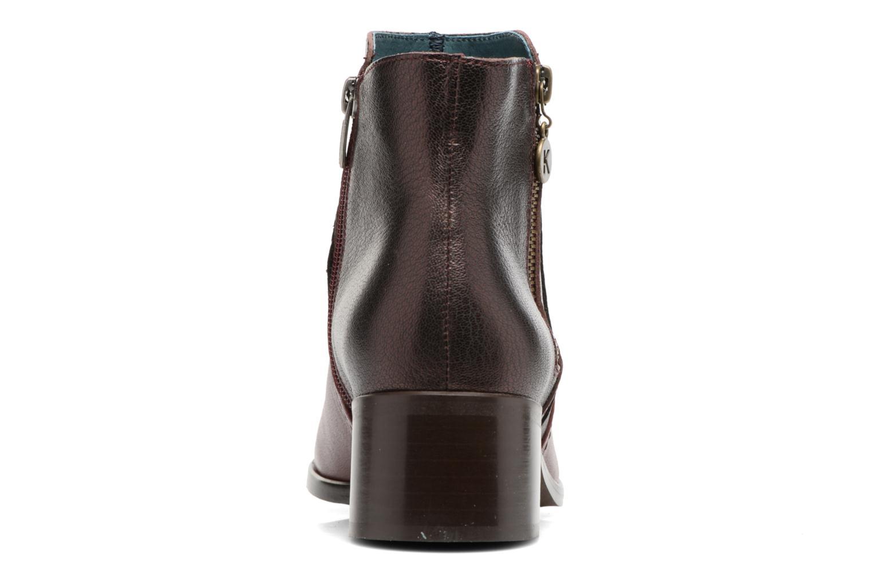 Bottines et boots Karston GLENO Bordeaux vue droite