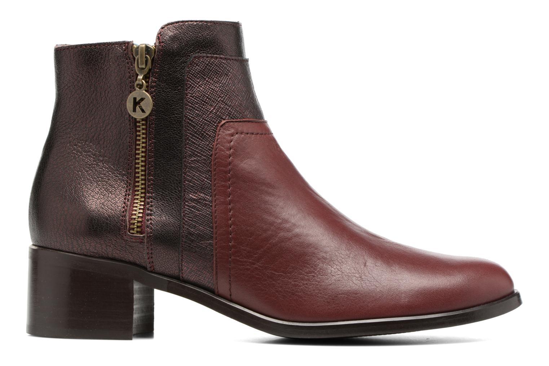Bottines et boots Karston GLENO Bordeaux vue derrière