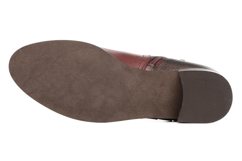 Bottines et boots Karston GLENO Bordeaux vue haut