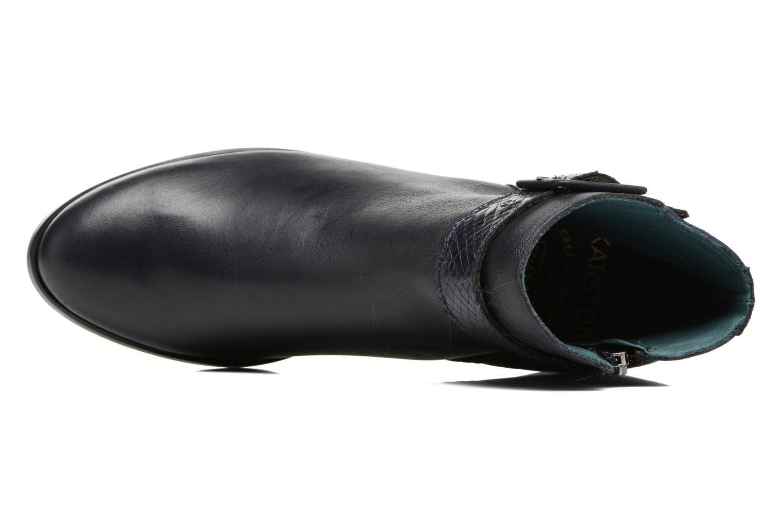 Boots en enkellaarsjes Karston GLECY Blauw links