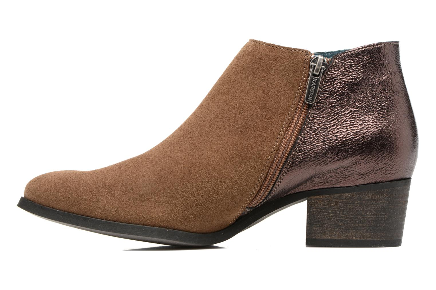 Bottines et boots Karston GLUBIUS Marron vue face