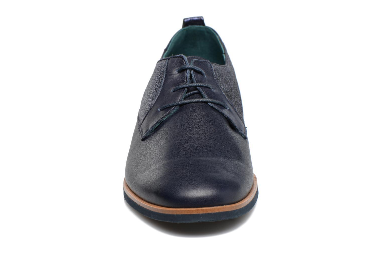 Chaussures à lacets Karston JISIOU Bleu vue portées chaussures