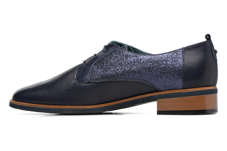 Chaussures à lacets Karston JISIOU Bleu vue face