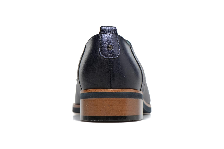 Chaussures à lacets Karston JISIOU Bleu vue droite