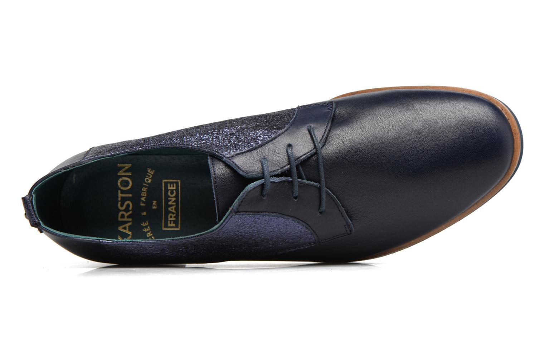 Chaussures à lacets Karston JISIOU Bleu vue gauche