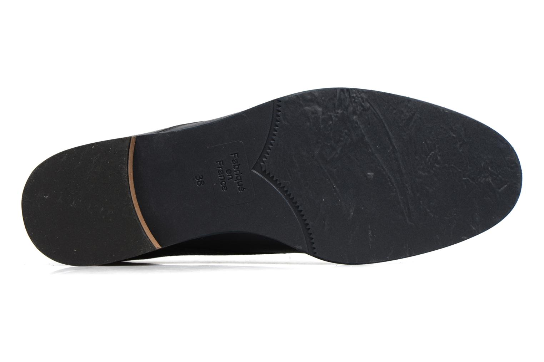 Chaussures à lacets Karston JISIOU Bleu vue haut