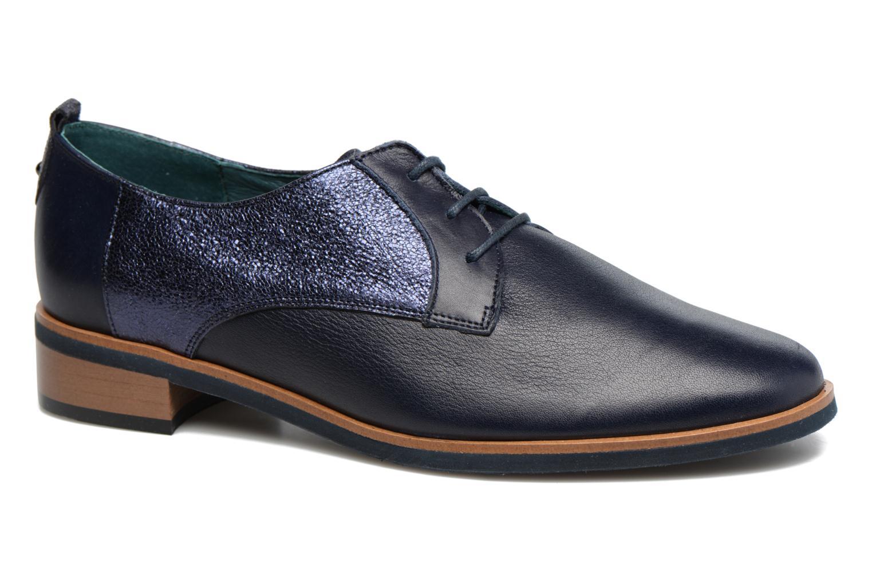 Chaussures à lacets Karston JISIOU Bleu vue détail/paire