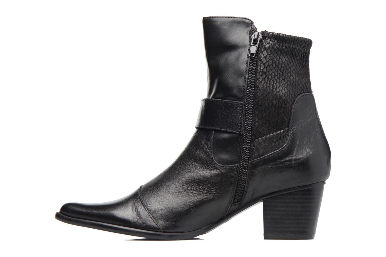 Boots en enkellaarsjes Madison AYDIVA Zwart voorkant
