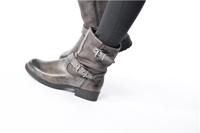 Boots en enkellaarsjes S.Oliver Cecila Bruin onder