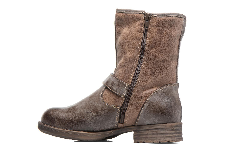 Stiefeletten & Boots S.Oliver Cecila braun ansicht von vorne