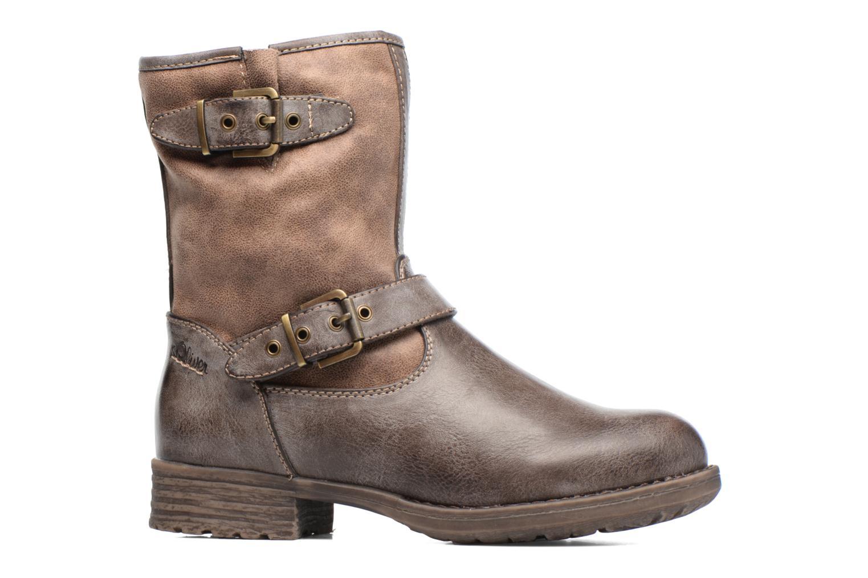 Stiefeletten & Boots S.Oliver Cecila braun ansicht von hinten