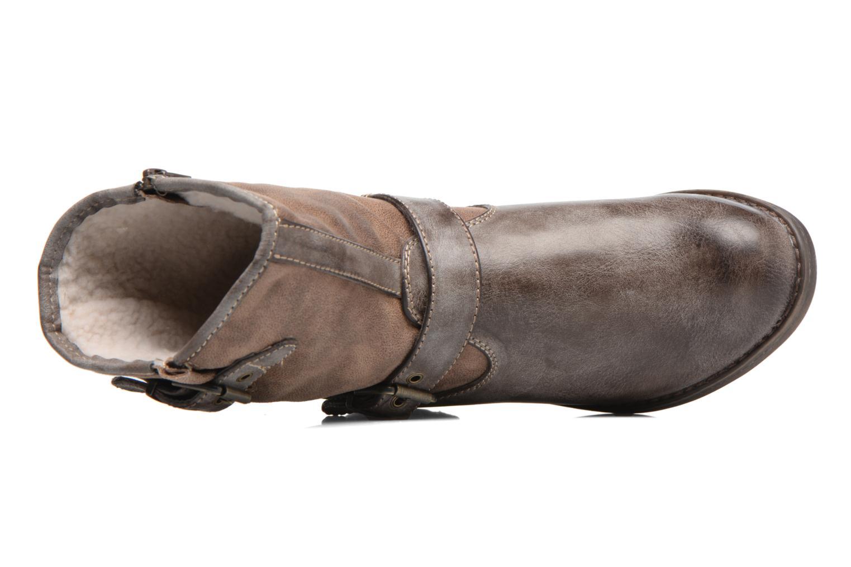Bottines et boots S.Oliver Cecila Marron vue gauche