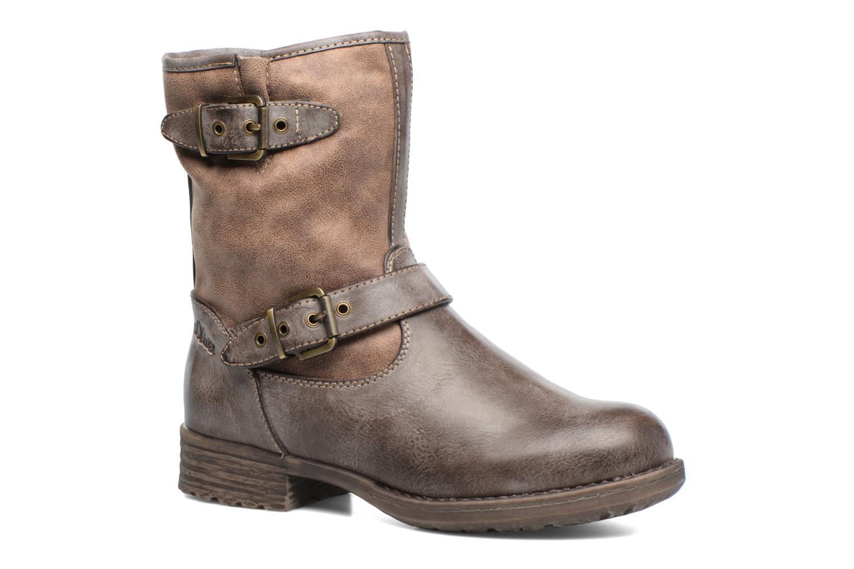 Boots en enkellaarsjes S.Oliver Cecila Bruin detail