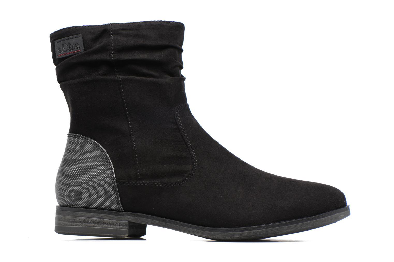 Bottines et boots S.Oliver Nola Noir vue derrière