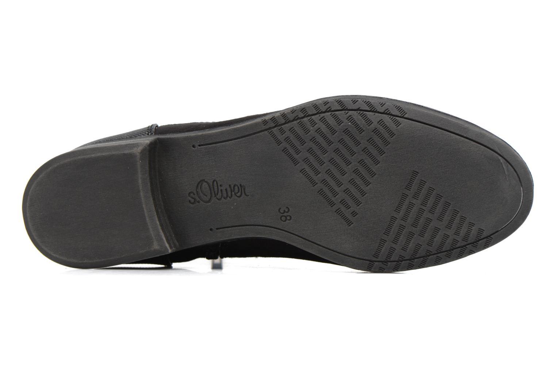 Bottines et boots S.Oliver Nola Noir vue haut