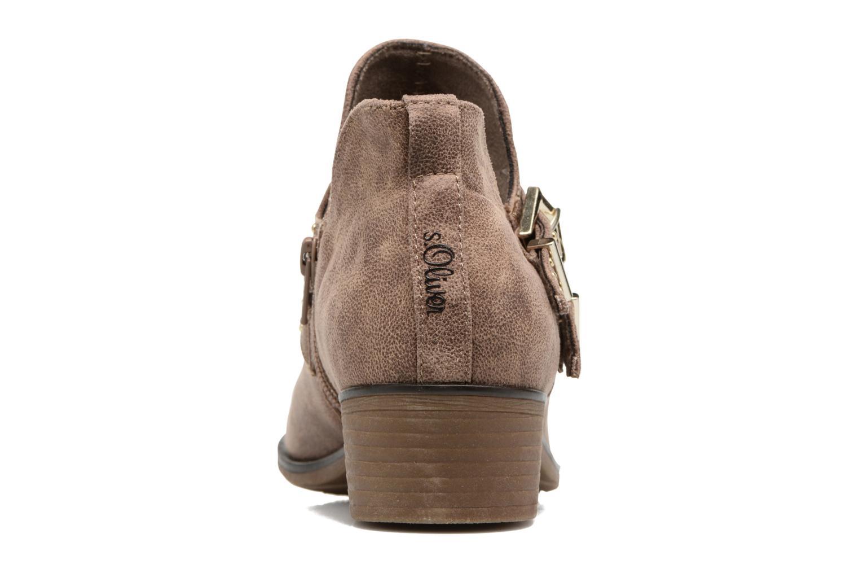 Bottines et boots S.Oliver Vicho Marron vue droite