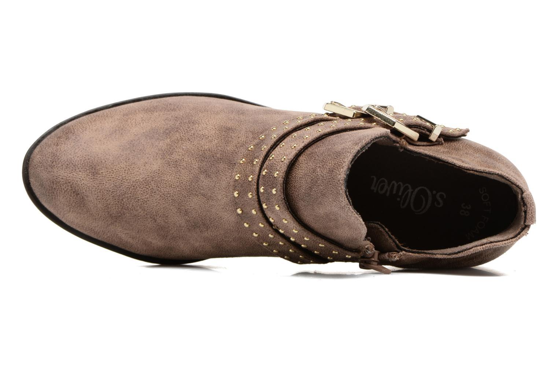 Bottines et boots S.Oliver Vicho Marron vue gauche