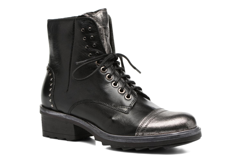 Zapatos promocionales Khrio Borteo (Negro) - Botines    Venta de liquidación de temporada