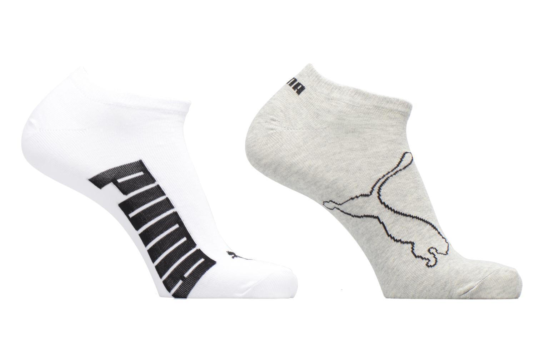 Chaussettes et collants Puma Socks LIFESTYLE SNEAKERS LOT DE 2 Gris vue détail/paire