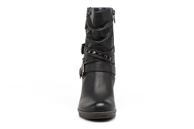 Bottines et boots Tom Tailor Lucile Noir vue portées chaussures