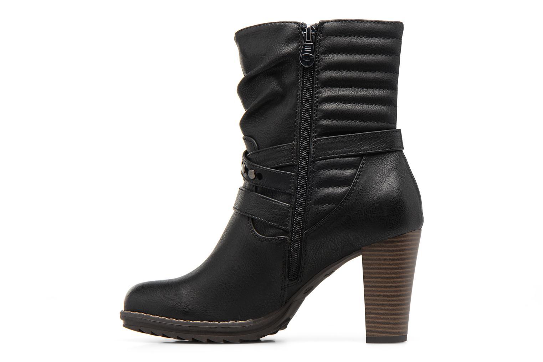 Bottines et boots Tom Tailor Lucile Noir vue face