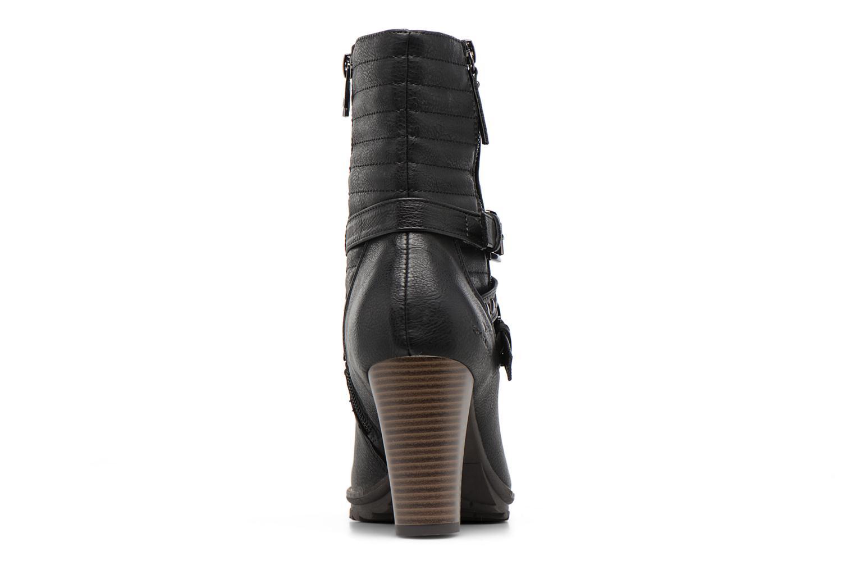 Bottines et boots Tom Tailor Lucile Noir vue droite