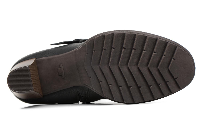 Bottines et boots Tom Tailor Lucile Noir vue haut