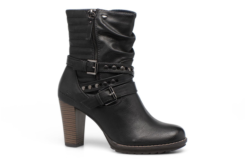 Bottines et boots Tom Tailor Lucile Noir vue détail/paire