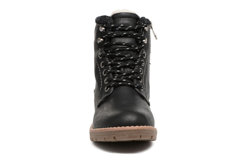Bottines et boots Tom Tailor Louise Noir vue portées chaussures