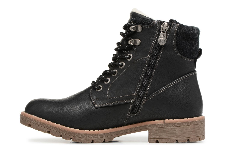 Bottines et boots Tom Tailor Louise Noir vue face