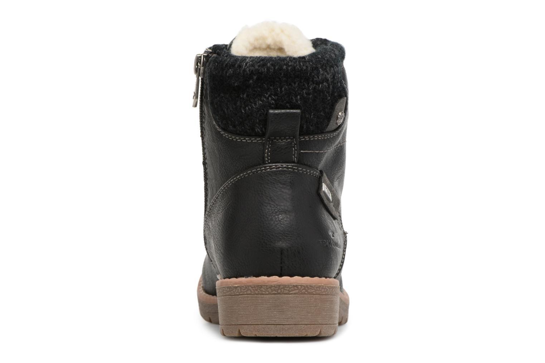 Bottines et boots Tom Tailor Louise Noir vue droite
