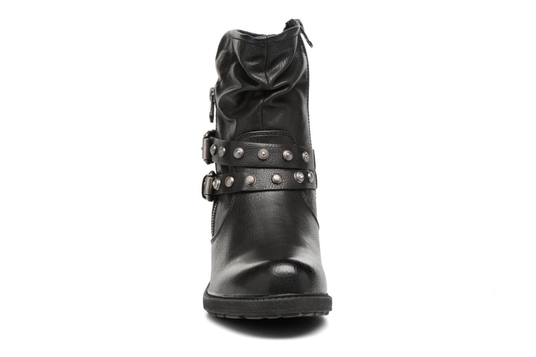Bottines et boots Tom Tailor Célia Noir vue portées chaussures
