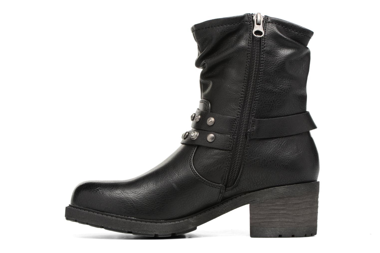 Bottines et boots Tom Tailor Célia Noir vue face