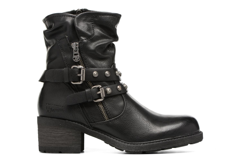 Bottines et boots Tom Tailor Célia Noir vue derrière