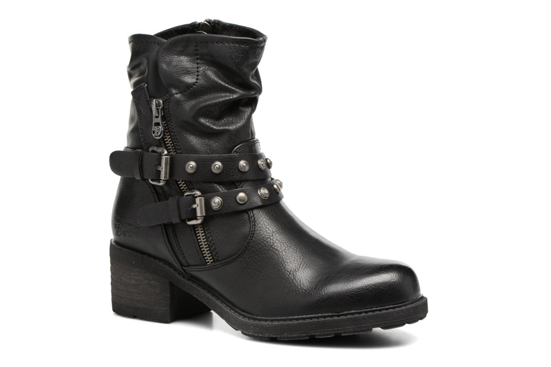 Bottines et boots Tom Tailor Célia Noir vue détail/paire