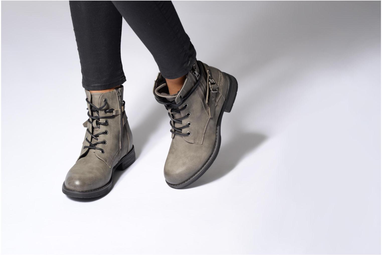 Bottines et boots Tom Tailor Gabrielle Noir vue bas / vue portée sac