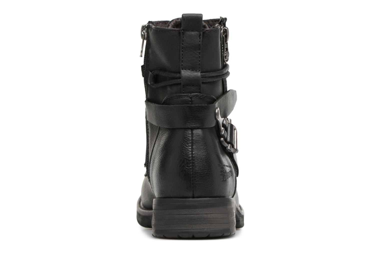 Bottines et boots Tom Tailor Gabrielle Noir vue droite