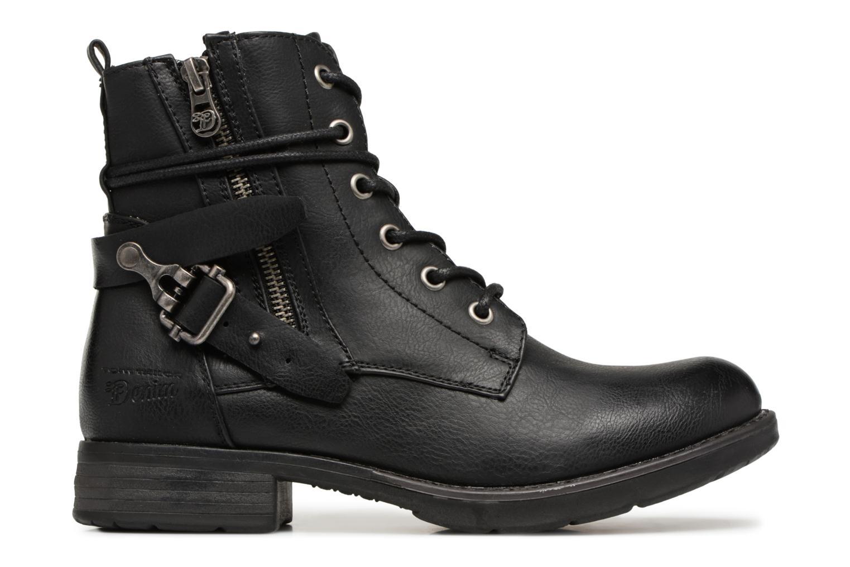 Bottines et boots Tom Tailor Gabrielle Noir vue derrière