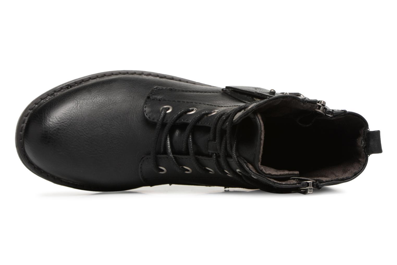 Bottines et boots Tom Tailor Gabrielle Noir vue gauche